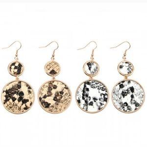02284 Snakeskin Earrings